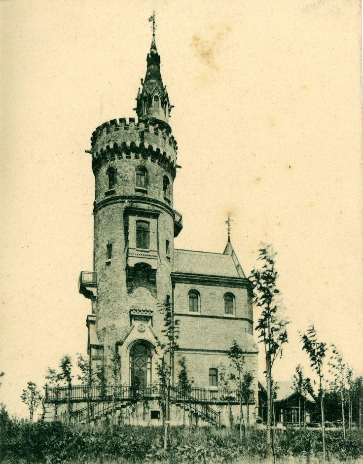 "archimaps:  ""The Stephanienwarte, Karlsbad  """
