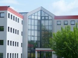 #locaux de l'antenne Inria Lyon La Doua sur le campus de La Doua, Villeurbanne, inaugurés en mai 2011.