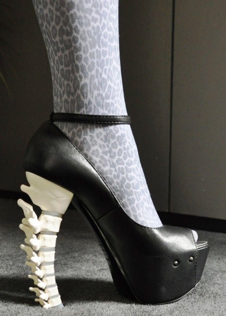 D Squared Spine Heels