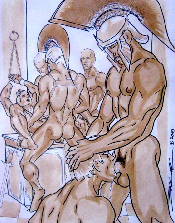Gay men masturbating photo