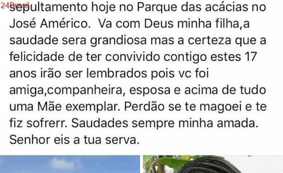 Morre esposa de jornalista esportivo paraibano