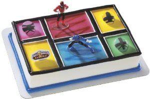 Power Rangers Samurai Cake Topper