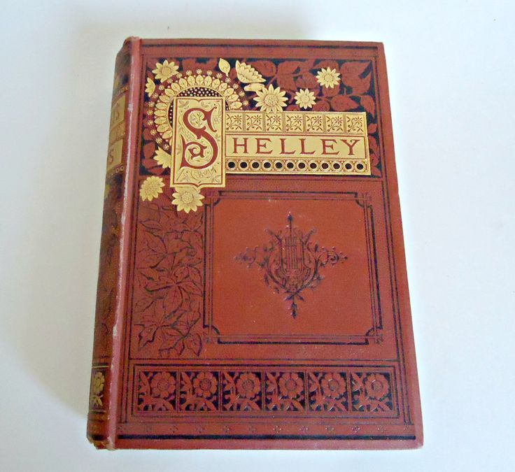 Shelley's Poems The Complete Poetical Works of Percy Bysshe Shelley First Edition 1800's by TreasureCoveAlly on Etsy