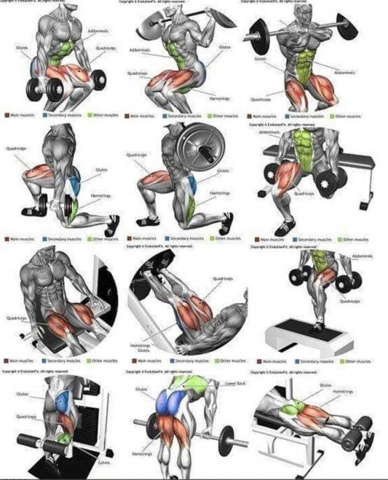 Mega Strong Legs Workout