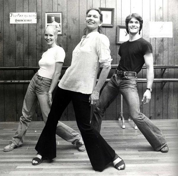 Actor Patrick Swayze, his mother Patsy Swayze and his wife Lisa ...