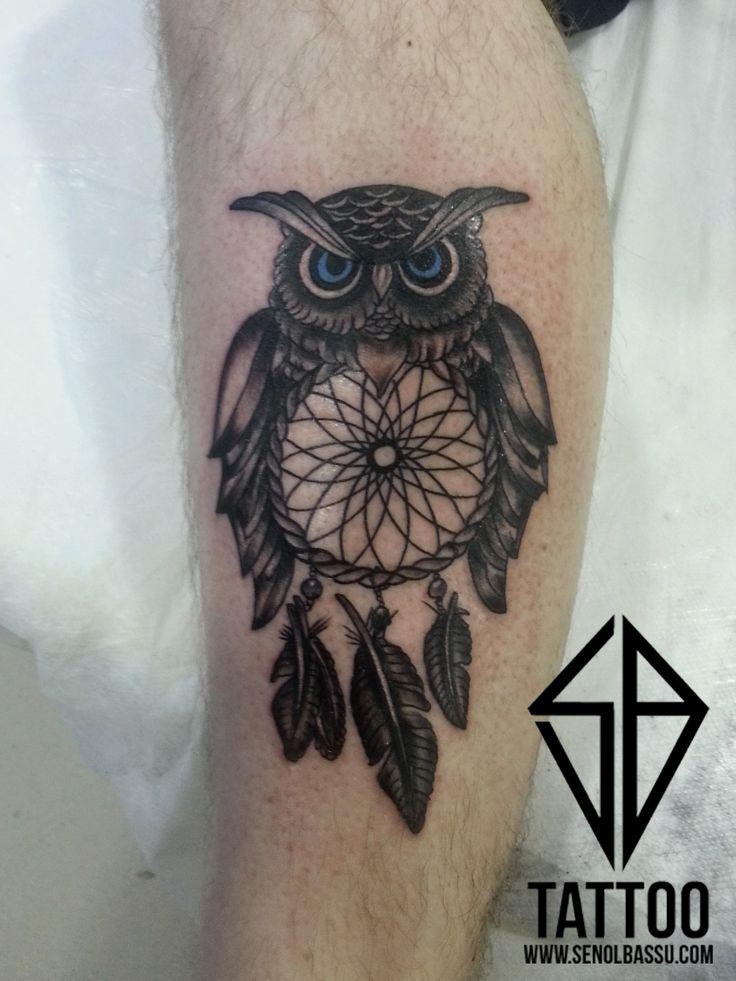 Owl Tattoo work