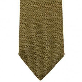 Olive Green Grenadine Tie - Linkson Jack