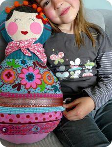 Matriochka Doll poupée russe