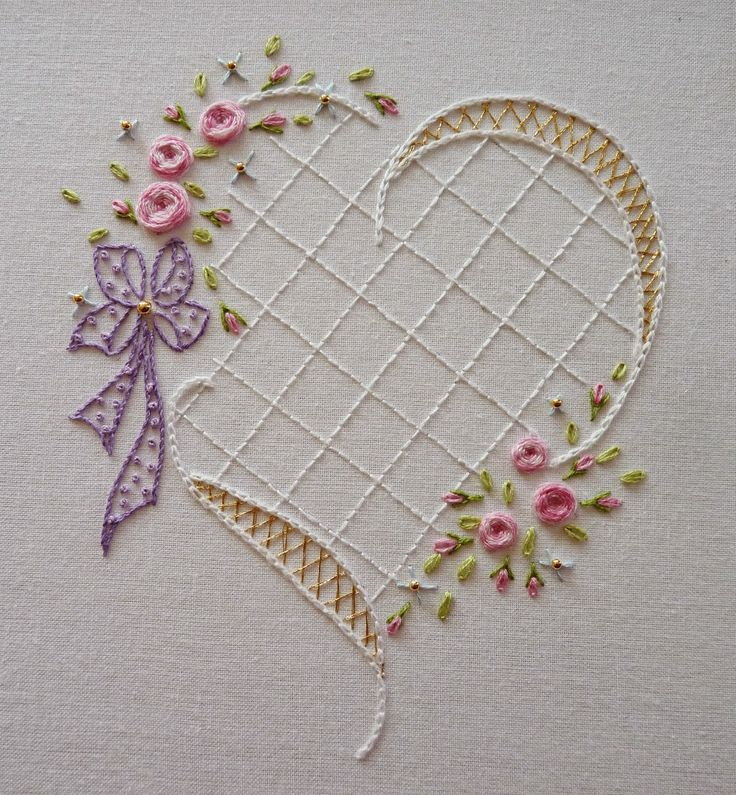 Best silk ribbon embroidery images on pinterest