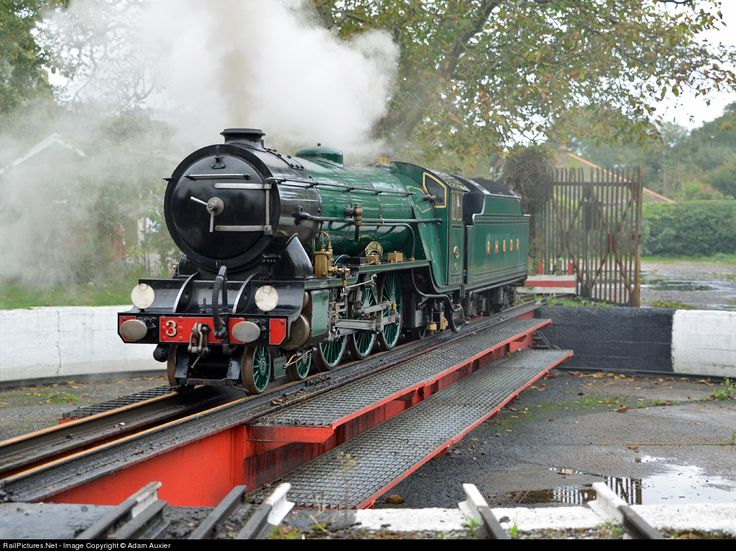 RailPictures.Net Photo: 3 Romney Hythe & Dymchurch Railway Steam 4-6-2 at Hythe, United Kingdom by Adam Auxier