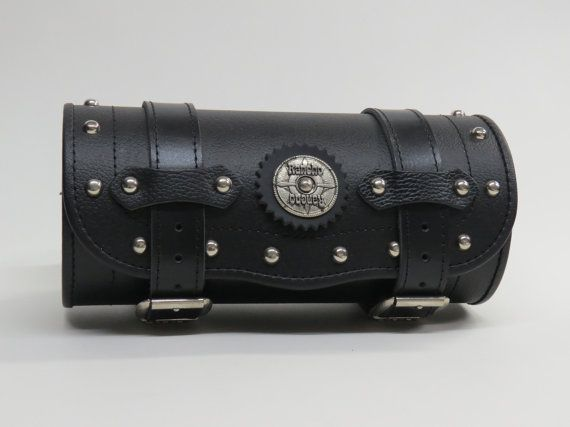 Motorcycle Genuine Leather/PU Leather Tool Bag/Fork by RanchoStyle