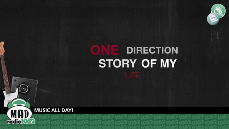 "One Direction ""Story Of My Life"" (with lyrics)"