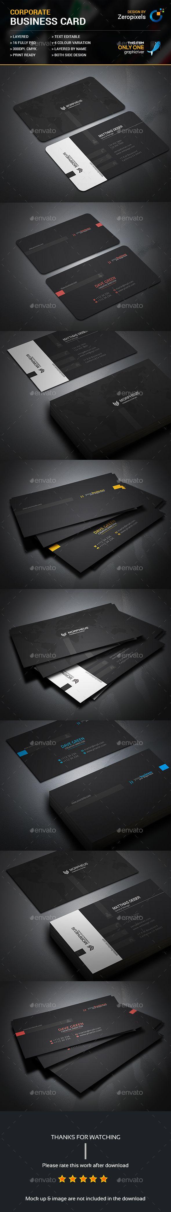 30 best name card design images on pinterest