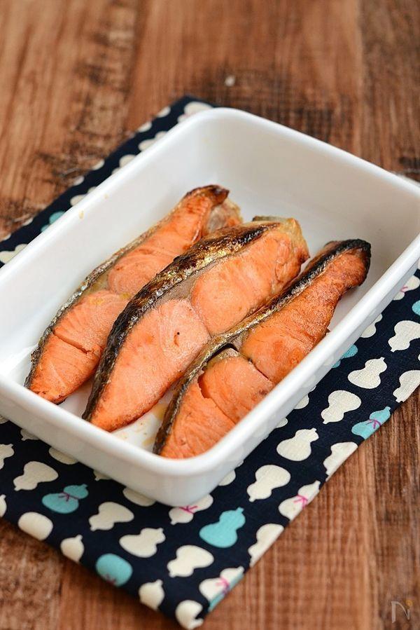 ひと手間をかけるだけで、臭みもなく鮭のうま味を引き出し、ふっくらとした仕上がり劇的に変わります。    冷めてもパサつかないのでお弁当にも。