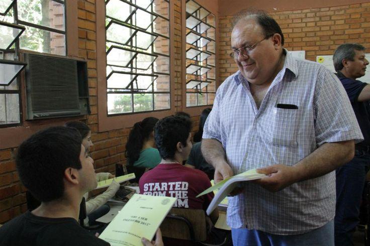 FIUNA y Gobernación Central realizan Curso Pre Nivelación en colegio de Itauguá   Facultad de Ingeniería