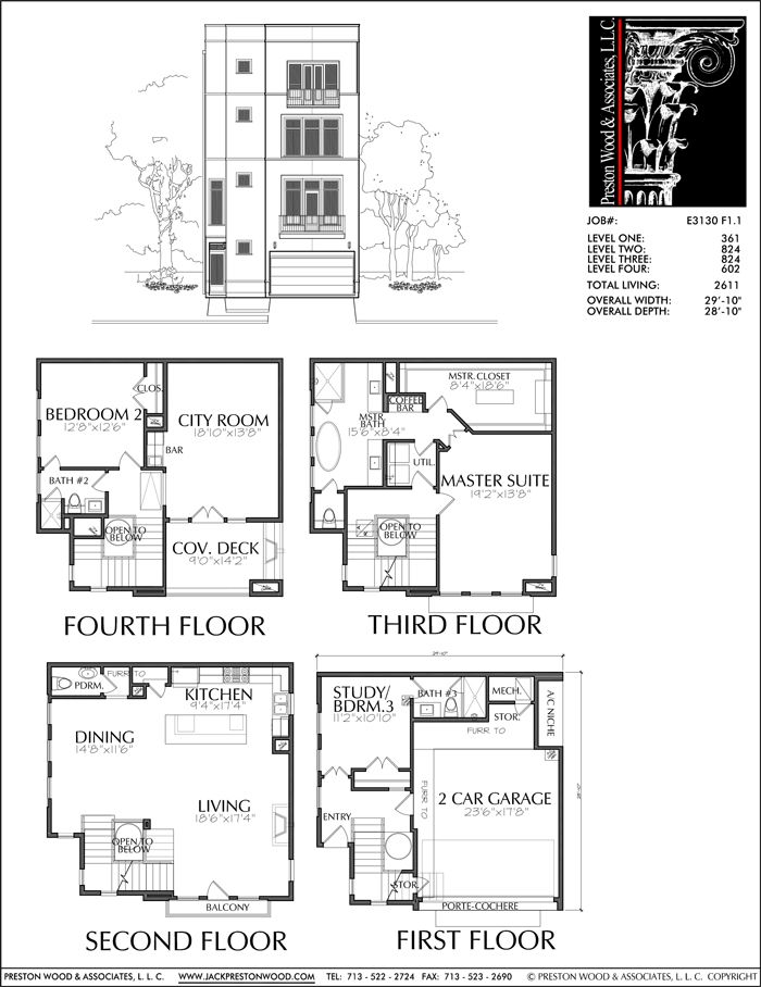 52 best 4 story th plan images on pinterest house floor for 4 story townhouse floor plans