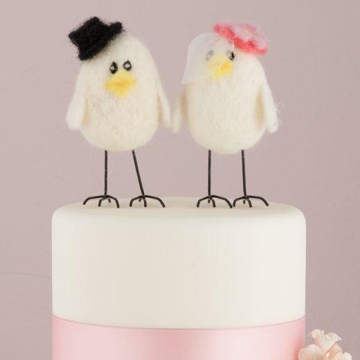 Love Birds Taarttopper