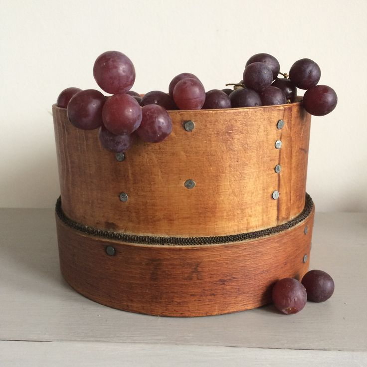 Vintage Wooden Flour Sieve/Sifter, Country Kitchen, Decorative, Victorian, Fruit Bowl by Papillonpieces on Etsy