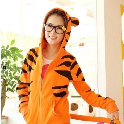 Chaqueta tigre / tiger hoodie wh151