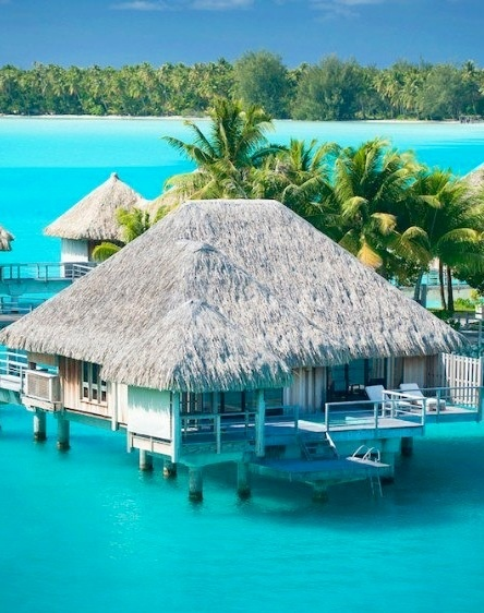 The Maldives seem to have a different idea of a beach hut! I like it