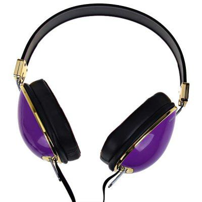Sonun SN-T6 Foldable Stereo Headphone for iPhone/Skype/iPod/MP3/MP4/PC - Purple #jewelry, #women, #men, #hats, #watches, #belts, #fashion