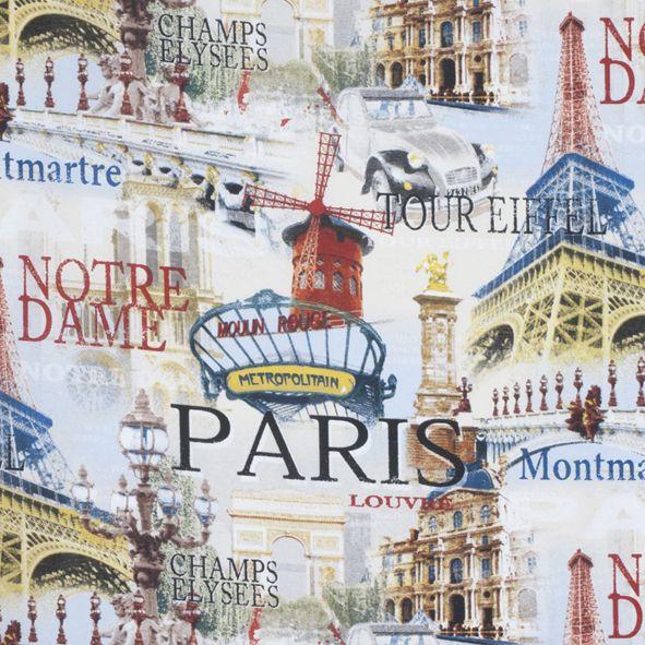 Dekorační látka Paříž