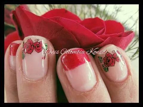 #konad #stampingplates #nailart #manicura  #decoraciondeuñas #colombia #oniscolombiakonad #konadcolombia #mujer