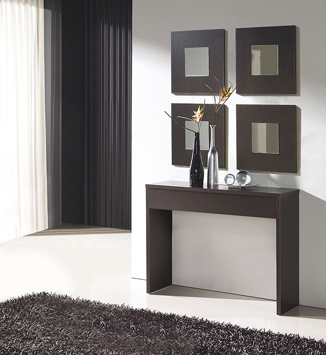 M s de 25 ideas incre bles sobre repisas para salas en - Mueble recibidor moderno ...