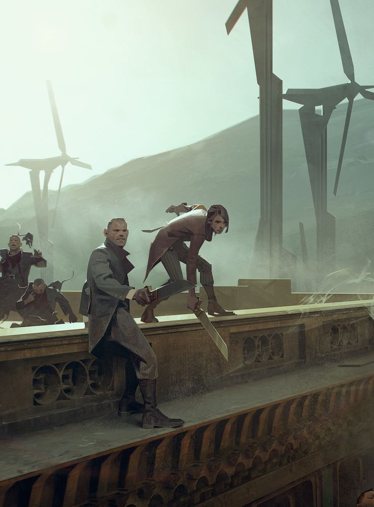 Gameinformer cover image for Dishonored 2 Art director: Sébastien Mitton