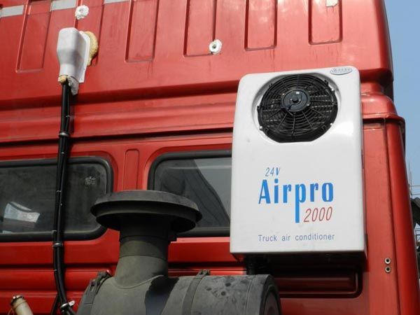 DC 24V electric air conditioner, also called parking air conditioning (parking cooler, truck sleeper) was designed for customer who want to use a electric compressor driven by DC battery when the engine is turn off. DC 24V/12V Air Conditioner refer to the truck & vehicle required a 12V or 24V battery power to drive its air conditioning system.