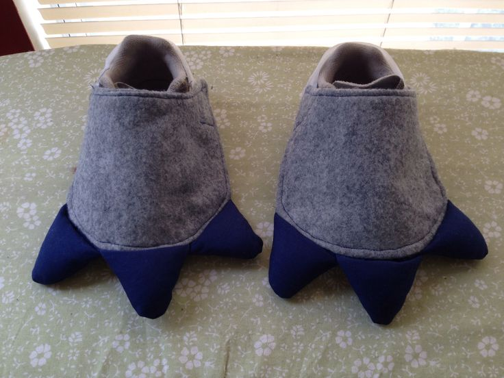 Dinosaur feet shoe covers, Halloween costume