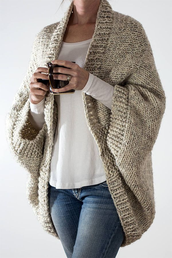 Knitting Pattern for Easy 18 Hour Cardigan – Cocoo…