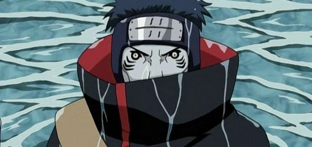 """Kisame Hoshigaki is a character from the Japanese anime Naruto. He's a member of the Akatsuki, code-named Nan, meaning """"south"""".  http://naruto.oasgames.com/en/"""