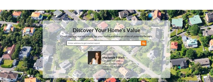 Curious to know what your home could be worth in today's market? My new property value tool will give you three price quotes, without signing up, to help you determine list price. Contact me today to get your property listed & sold for top dollar (602)430-3206   sales@mackenzieblack.realtor   Home Value Estimator by Mackenzie P Black