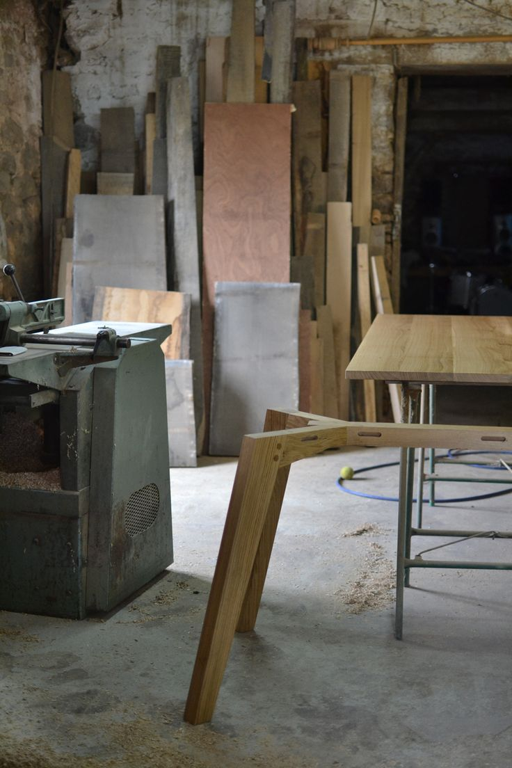 Cabinet maker bespoke pine furniture oak furniture bespoke - One Of Our Chiswick Oak Dining Tables In The Making Http Www