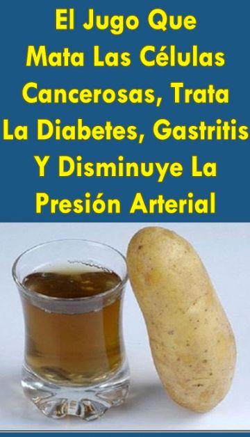 El Jugo Que Mata Las Células Cancerosas, Trata La Diabetes, Gastritis Y Disminuye La Presión