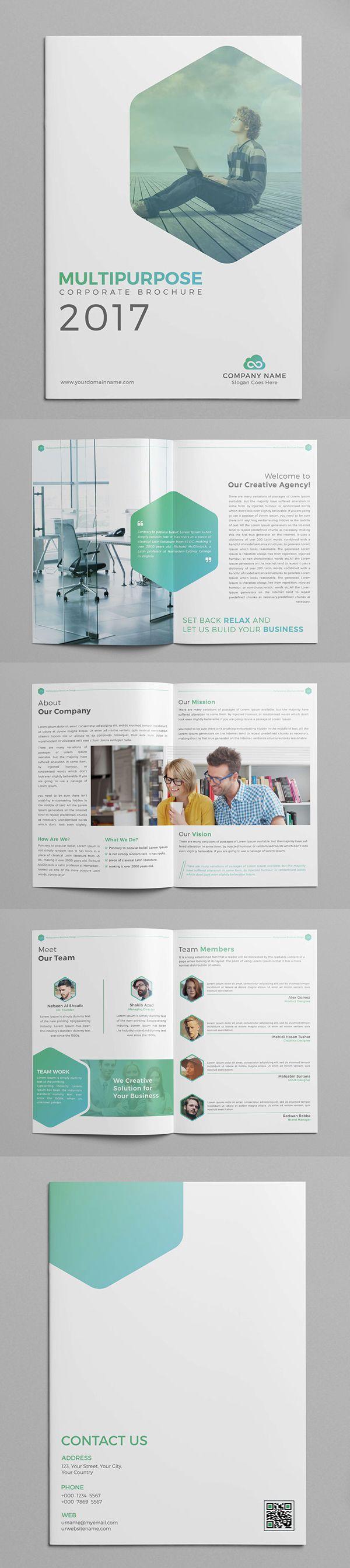 Multipurpose Company Profile Brochure Template