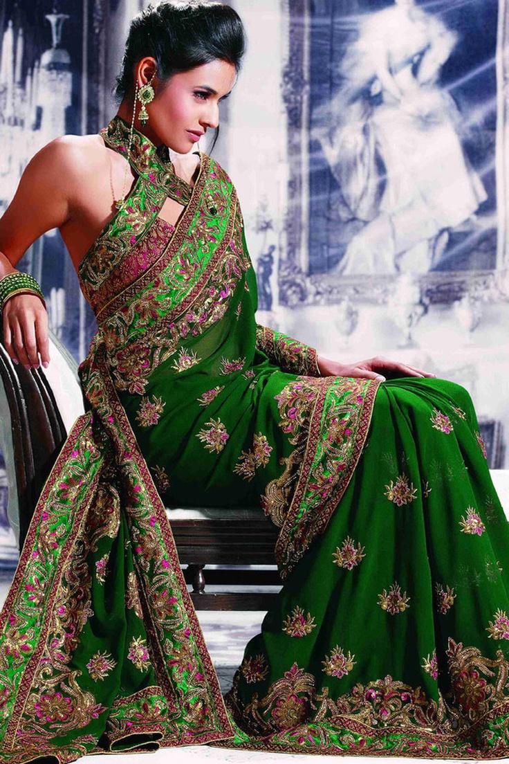 cool sari blouse