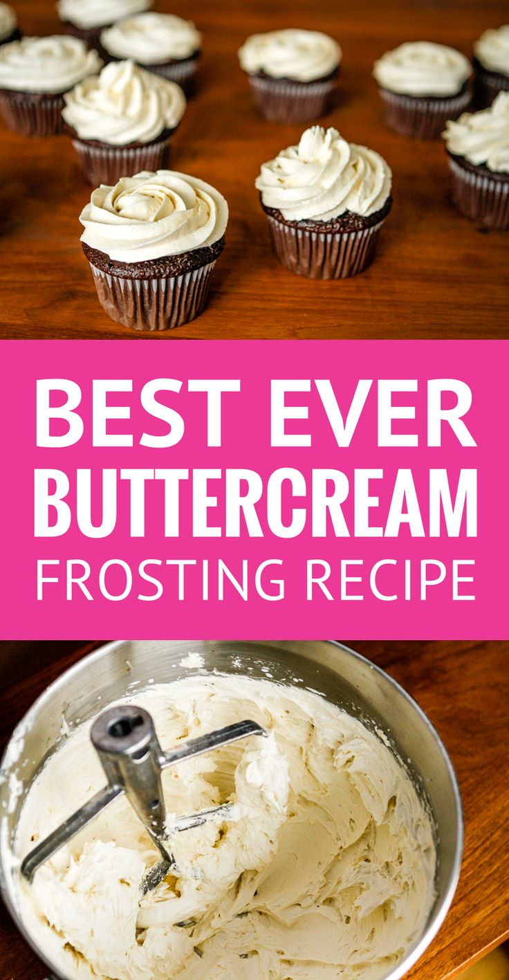 Best Buttercream Frosting Recipe -- super creamy and fluffy, not too sweet, this is quite possibly the BEST buttercream frosting recipe ever... A must try! | vanilla buttercream frosting | homemade buttercream frosting | whipped cream frosting recipe | powdered sugar icing recipe | fluffy buttercream frosting | find the recipe on unsophisticook.com #buttercream #buttercreamfrosting #bestbuttercream #easterrecipes #unsophisticook