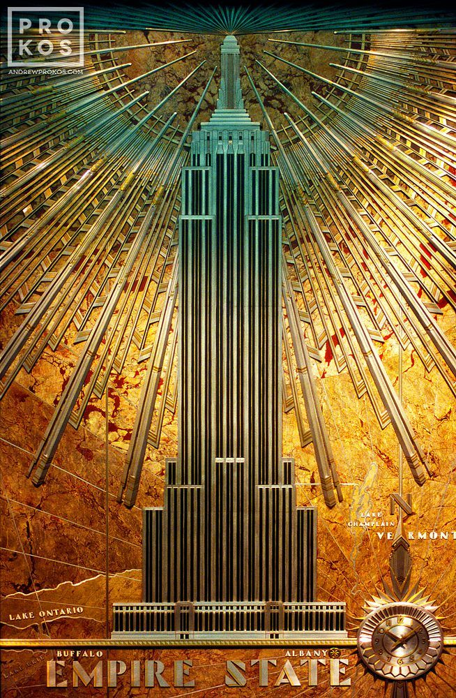 Empire State Building Interior Detail