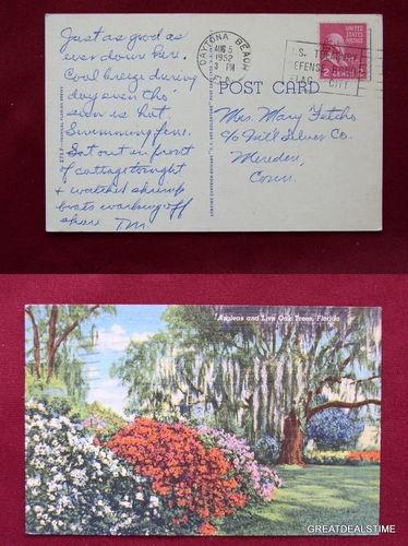 Vintage Crescent Beach Florida Postcards