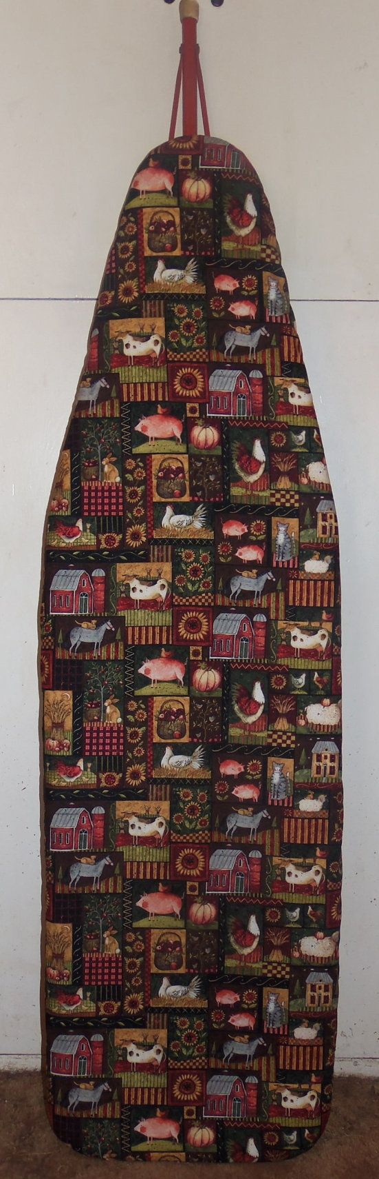 Country Market  Farmhouse Ironing board cover by Farmhouseclassic