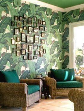 Verander je huis in je een tropisch paradijs, met dit fleurige Beverly Hills Martinique behang. Het hele dag zomergevoel het hele jaar door..