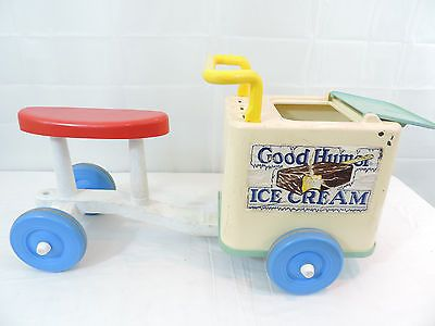 RARE Vintage Playskool Good Humor Ice Cream Truck Ride on Bike ...I had one!