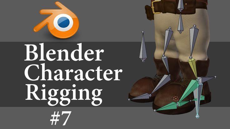 Blender Character Rigging 7 of 10