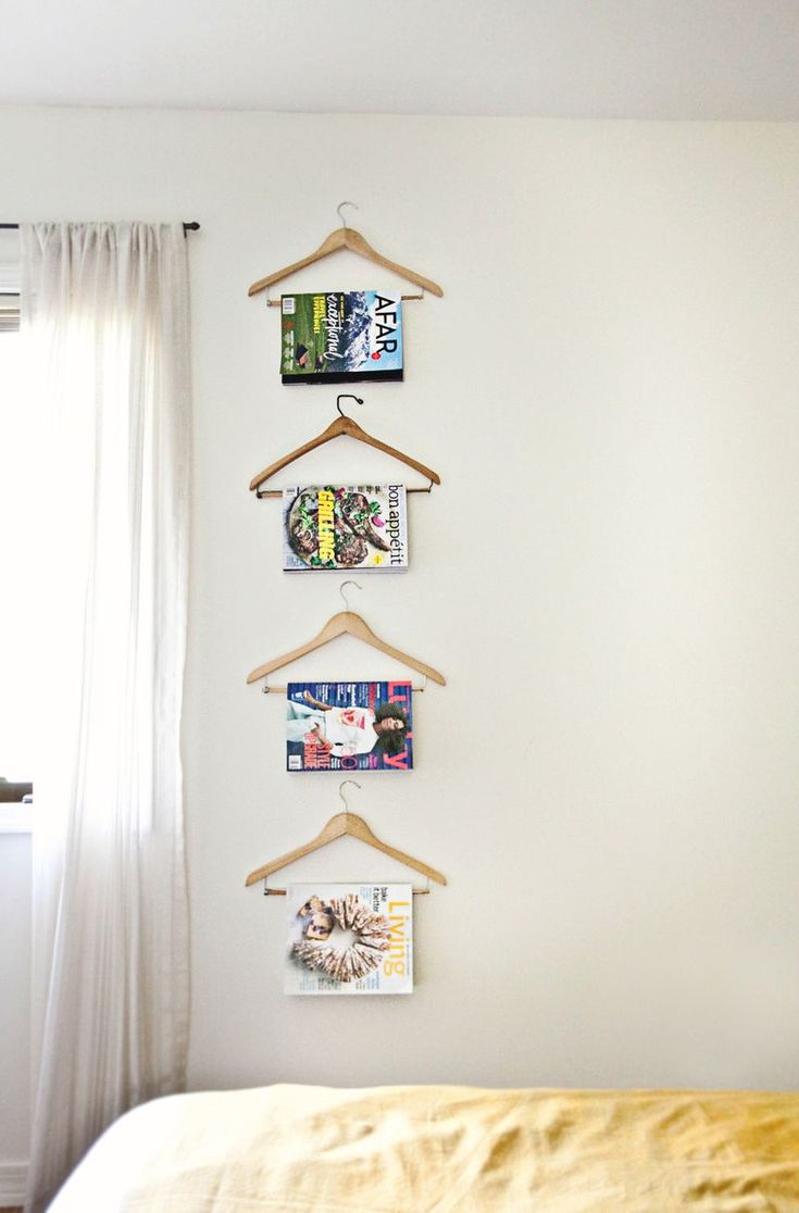Love this idea for a guest room!