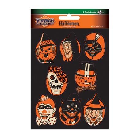 vintage halloween stickers