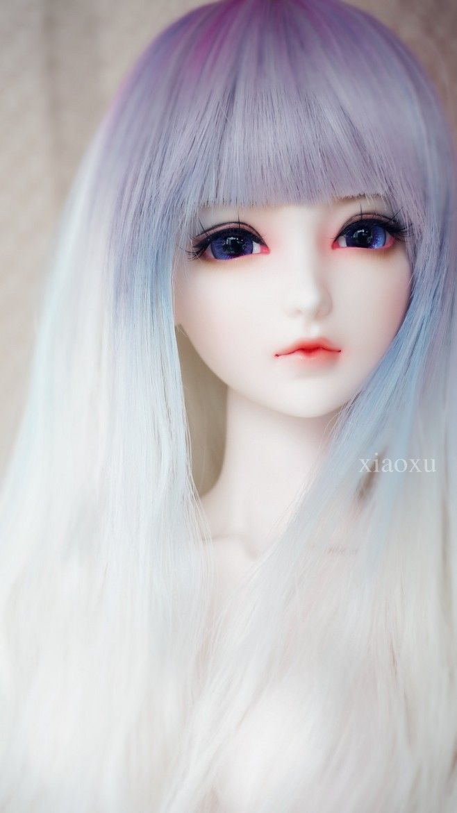 Ball jointed dolls, I absolutely LOVE this wig!