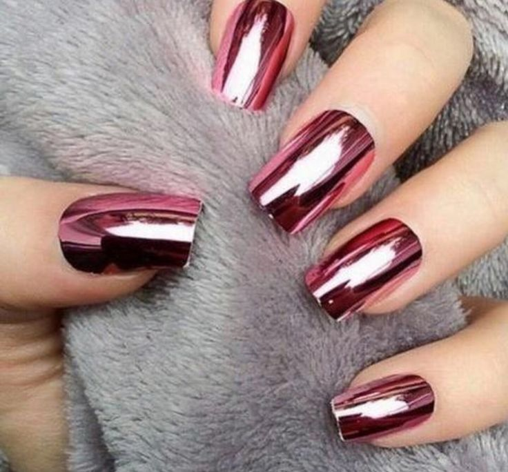 Chrome nails!