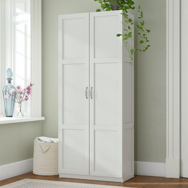 Keep Clutter Under Control With This Two Door Accent Cabinet Crafted Of Manufactured Wood In A Cla Howard Storage Tall Cabinet Storage Office Storage Cabinets